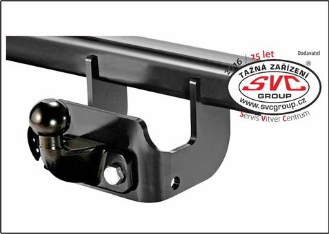 Přírubový čep AS-10 Tento systém je určený pro vozidla s vyšší užitnou hmotností a to jak na podélné tak i svislé zatížení.