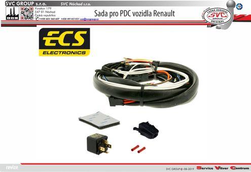 elektro přípojka pro tažné zařízení  Fiat Českého dodavatele SVC GROUP