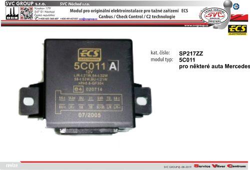 modul pro elektro ECS Mercedes Originální přípojky pro auta 5C011 výrobce tažných zařízení SVC GROUP