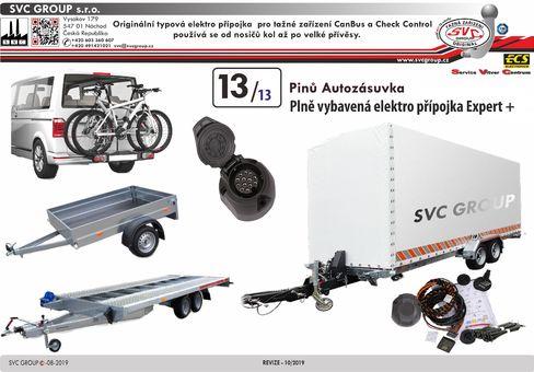 13 elektro instalace expert pro tažné zařízení svc VW-146-D1.0