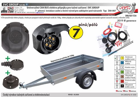 7 autoelektrika CanBus univerzální   Pro vozidla která nejsou vybavená couvacími senzory PDC, nebo mají tento vypínač na palubní desce