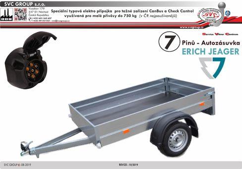 7 pinová elektro instalace tažné zařízení svc EJ737388