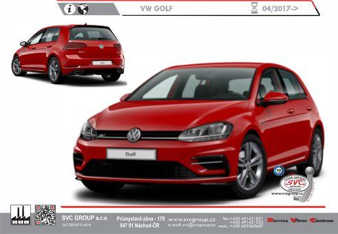 Volkswagen Golf 04/2017->10/2019
