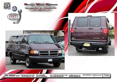 Dodge Ram Van ne 4x4