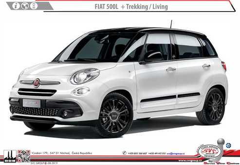 Fiat 500L + Trekking /  Living / Cross