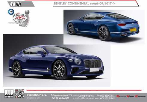 Bentley Continental coupé