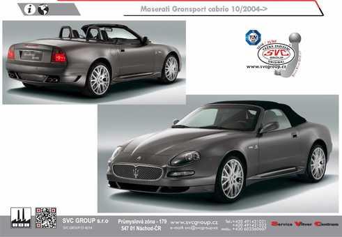 Maserati Gransport cabrio
