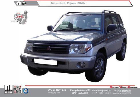 Mitsubishi Pajero Pinin 3-dveří