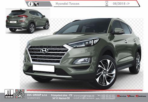 Hyundai Tucson 7/2018->7/2020