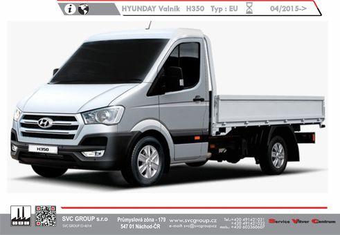 Hyundai H 350 Valník / Podvozek