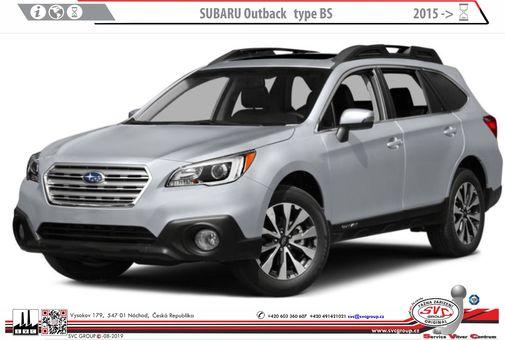 Subaru Outback 01/2015->
