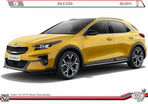 Kia X-ceed 8/2019->
