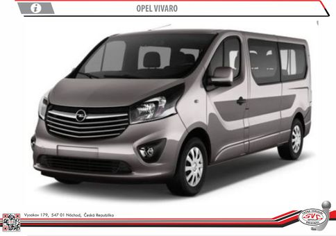 Opel Vivaro 07/2014->12/2019