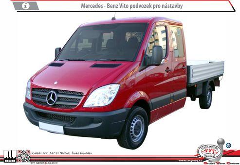 Mercedes Sprinter Podvozek /Valník