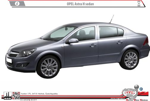 Opel Astra H - Sedan