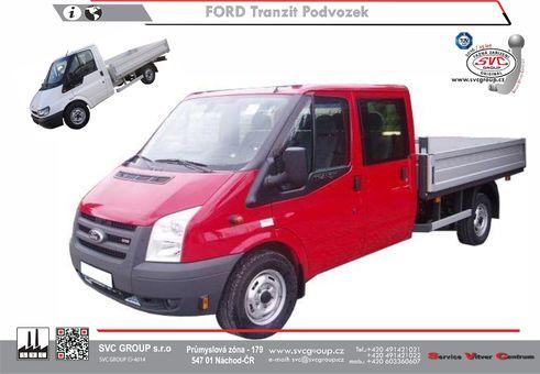 Ford Transit Podvozek Jedno a Dvou kabina