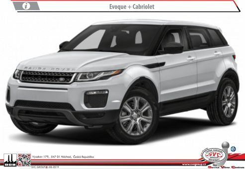 Land Rover Evoque + Cabriolet