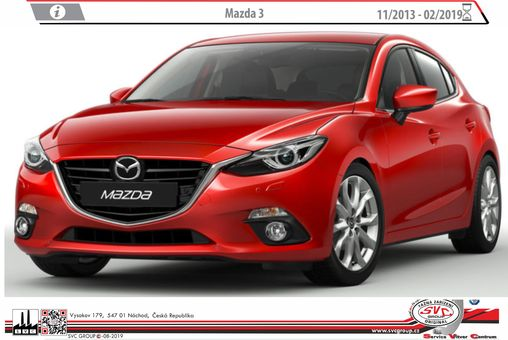 Mazda 3 11/2013->10/2019