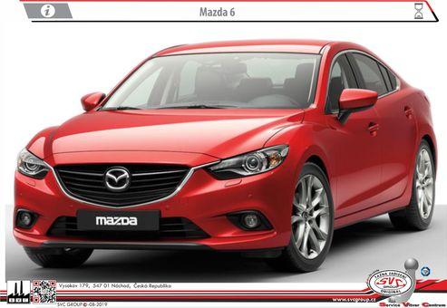 Mazda 6 06/2013->12/2018->