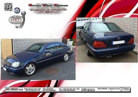 Mercedes S  Třída  Kupé