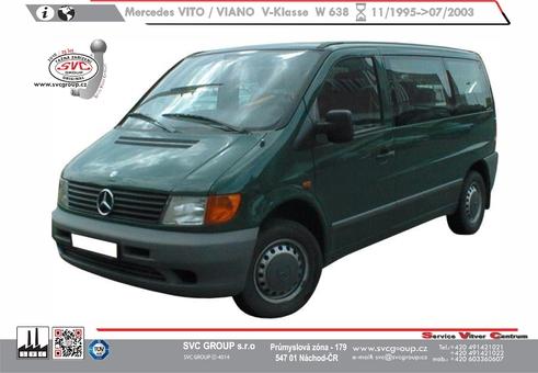 Mercedes VITO + VIANO serie V-klase