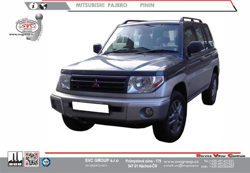 Mitsubishi Pajero Pinin 5-dveří