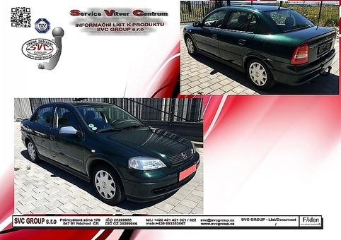 Opel Astra G - Sedan
