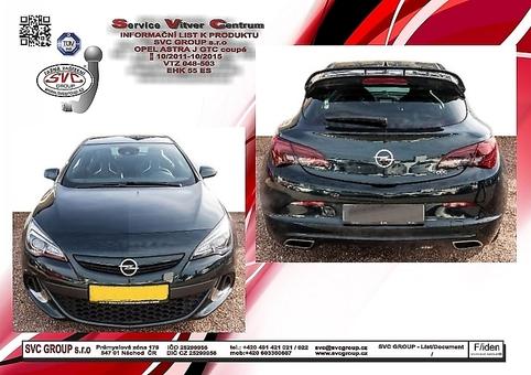 Opel Astra J - Kupé (GTC)
