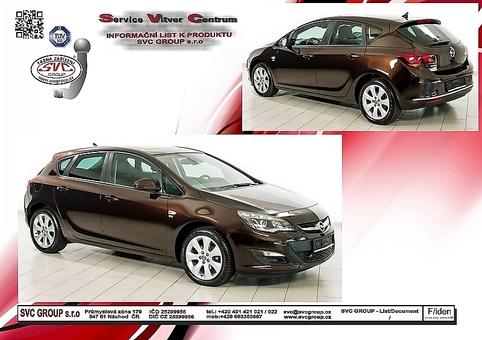 Opel Astra J - Hatchback