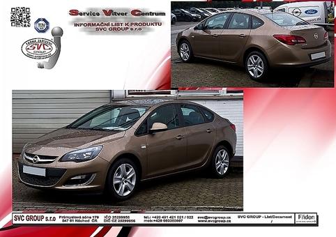 Opel Astra J - Sedan