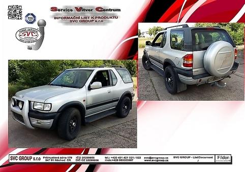 Opel Frontera B UT2 Sport + UT4
