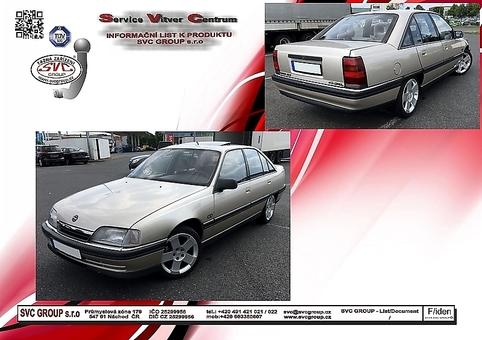 Opel Omega A - Sedan