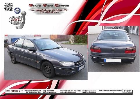 Opel Omega B+C - Sedan