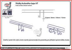 Při objednávce do poznámky vložte informaci o síle kovových úchytů na tažném zařízení na které se kulový čep přišroubovává.  Síla držáku kulového čepu je 12-mm.