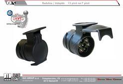 Redukce/Adaptér pro tažná zařízení z 13 pólové Auto zásuvky na 7 pólovou zástrčku přívěsu.   SVC GROUP Výrobce tažných zařízení