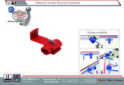 Propojka kabelů Červená  Výrobce tažných zařízení SVC GROUP