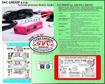 Miniaturní model III generace pro 7 Pinovou elektroinstalaci Modul odpojuje parkovací senzory PDC a mlhové světlo.