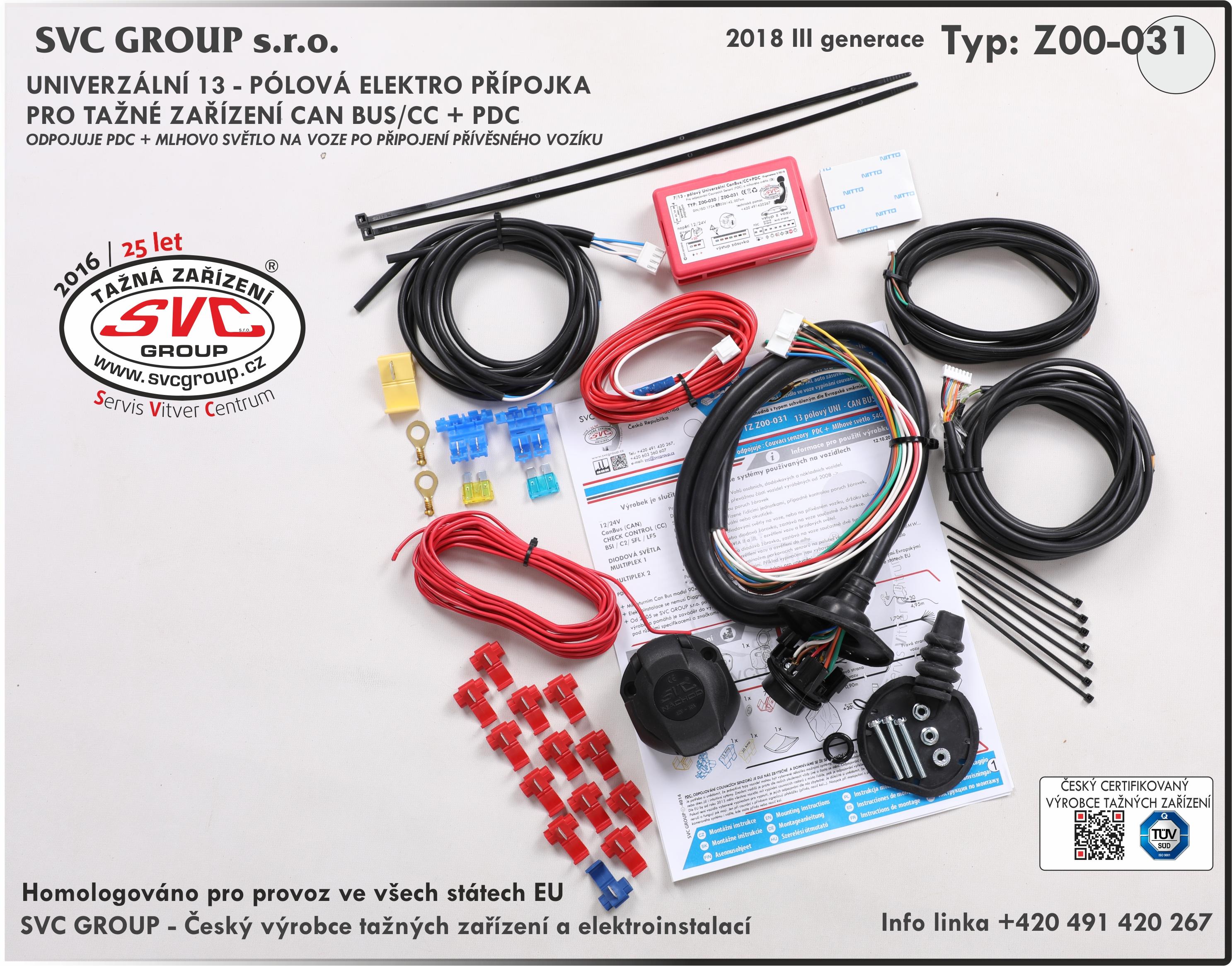 Připojení 20 amp rv