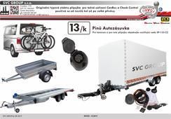 13 originál elektro pro tažné zařízení  Autorizovaný dovozce a prodejce pro CZ a Sk  Český výrobce tažných zařízení SVC GROUP