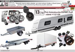 Originální elektro přípojka pro tažné zařízení  Expert Profi 13 pólů, výrobce pro ČR a SK SVC GROUP