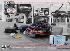 Originální / typová elektro instalace pro tažné zařízení Autorizovaný dovozce a prodejce pro Českou a Slovenskou Republiku. SVC GROUP
