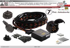 7 pinová speciální Typová elektropřípojka pro tažné zařízení Autorizovaný dovozce a prodejce pro Českou a Slovenskou Republiku. SVC GROUP, Český výrobce tažných zařízení