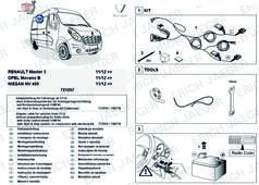 Rozšiřující sada pro Opel Nissan Renault