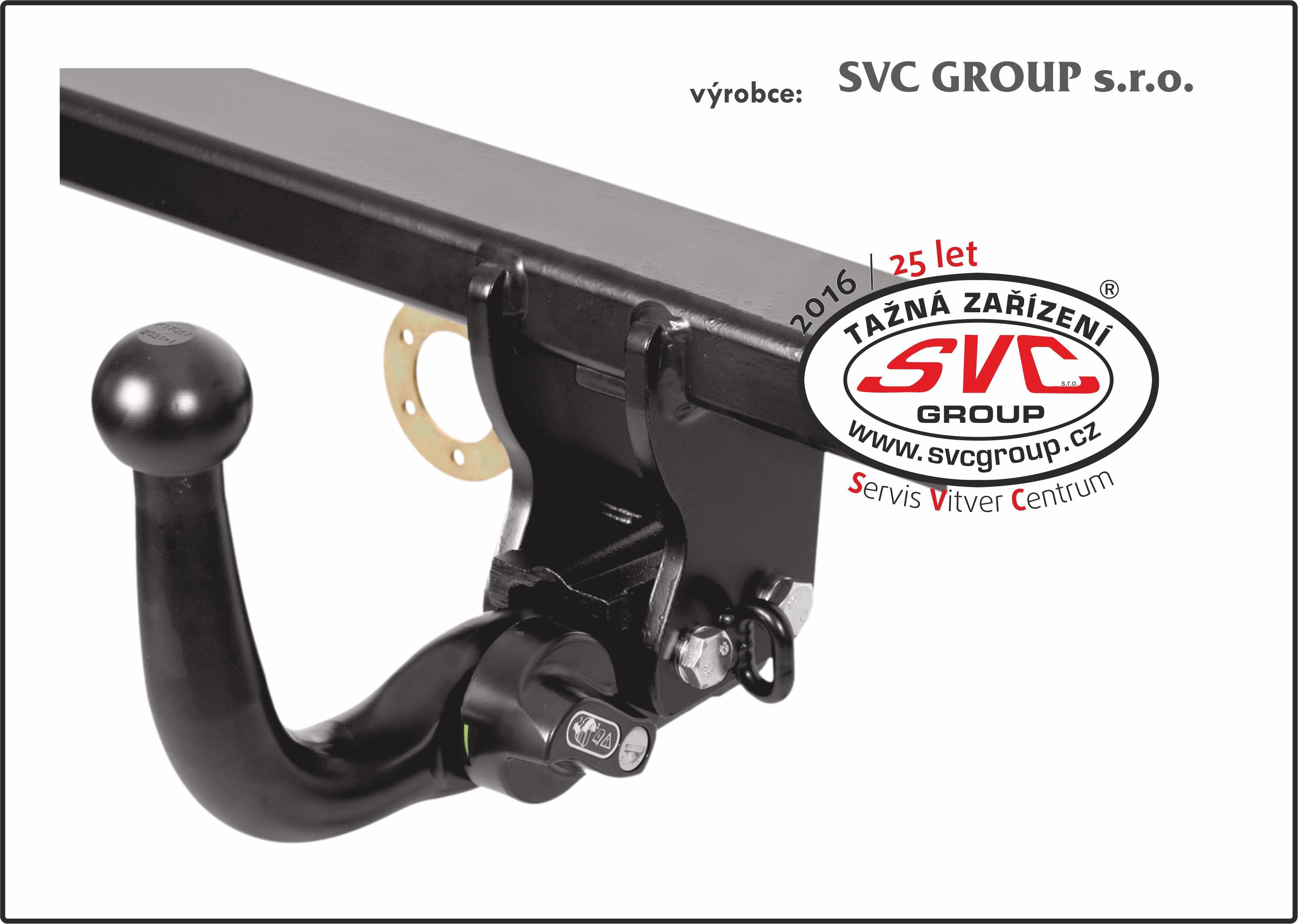 Bajonetové SVMAT-4 Výrobek SVC  Horizontální – podélný  plně zamykatelný automatický bajonet v černém elegantním provedení. Kulový čep dle nařízení EU musí být z vozu demontován, pokud není připojený přívěsný vozík nebo nosič kol. Kulový čep lze nasadit a zajistit jednou rukou, tento systém je také uzamykatelný.  GROUP českého výrobce