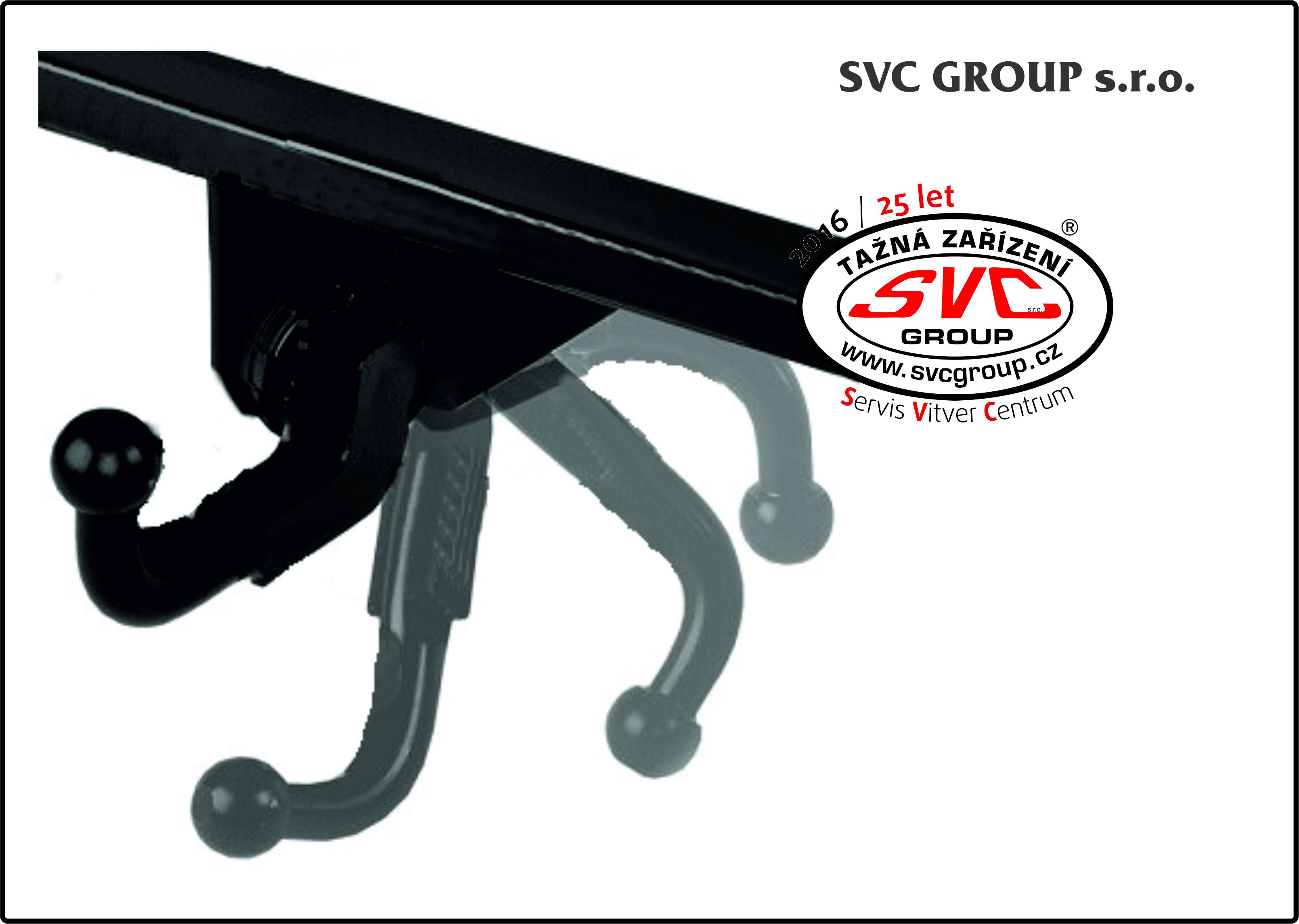 Bajonetové SVMAT-2 :  Kulový čep je spojen s tažným zařízením pomocí kloubu a zajišťovacího mechanizmu.  Mechanizmus odjištění a zajištění kulového čepu je nejčastěji uložený v zavazadlovém prostoru vozu.  Po odjištění se kulový čep vyklopí zpod nárazníku a musíte ho zajistit do provozní polohy