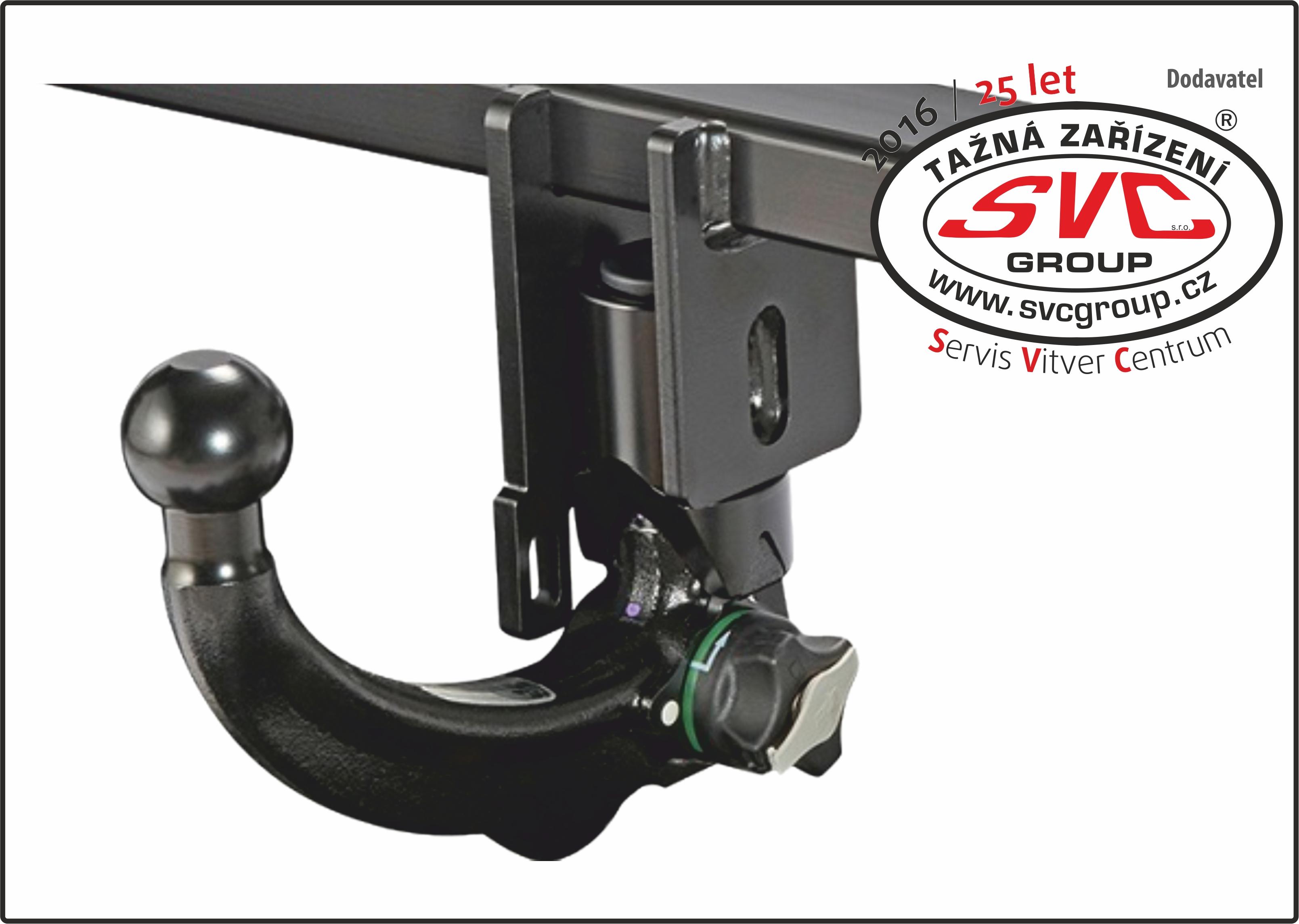 Vertikální Bajonet AK40/41+SKL Automatický Vetikální bajonet zamykatelný v černém elegantním provedení včetně zámku proti zcizení. Kulový čep dle nařízení EU musí být z vozu demontován, pokud není připojený přívěsný vozík nebo nosič kol.