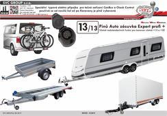 13 pólová elektro přípojka tažné zařízení SVC Group ecs VW-201-H1