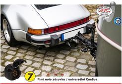 7 pinová auto elektro pro tažné zařízení univerzální CanBus