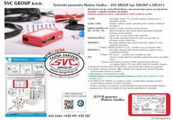 Elektrika pro tažné zařízení Modul CanBus dodávaný od výrobce tažných  zařízení SVC GROUP.  Miniaturní model III generace