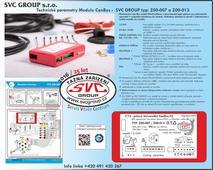 Miniaturní model III generace pro 13 P elektro instalaci  tažné zařízení  Modul neodpojuje parkovací senzory PDC